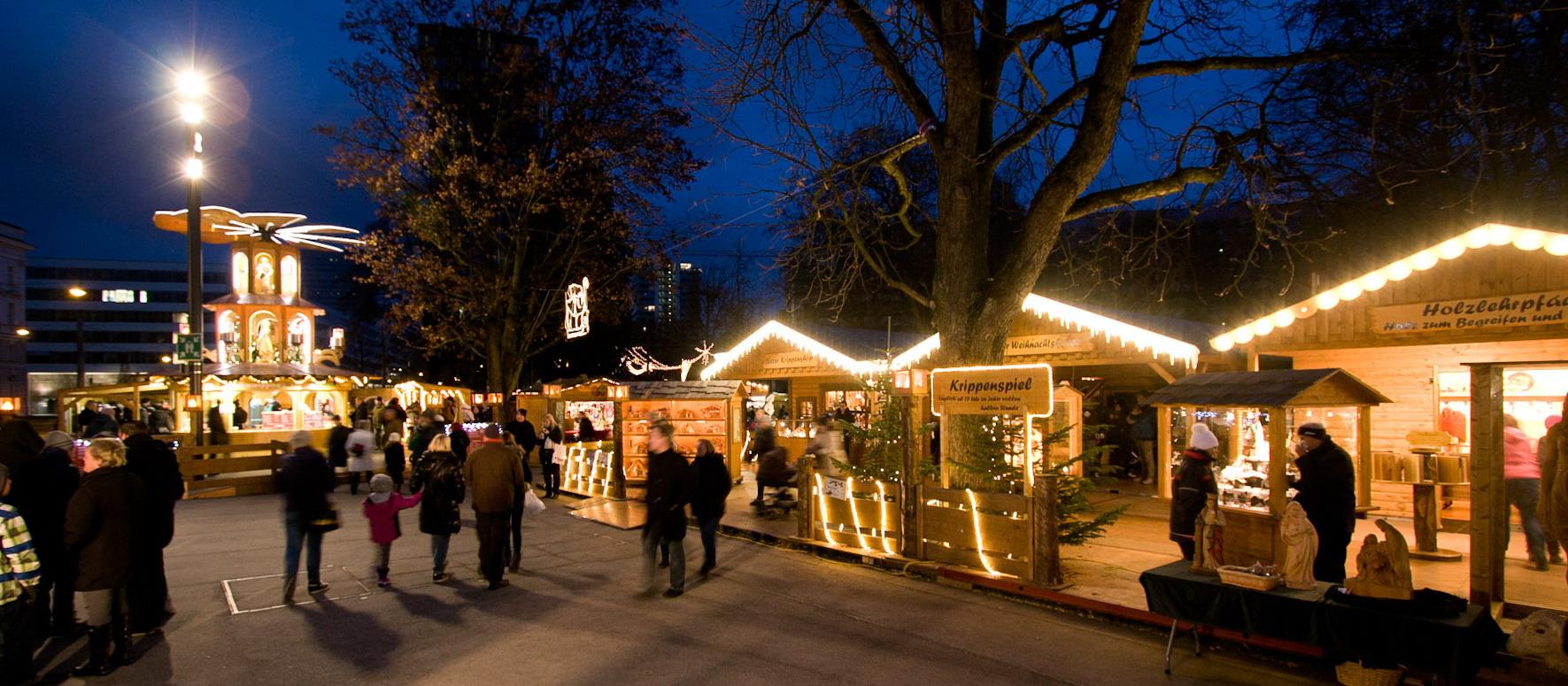 Weihnachtsmarkt Länger Als 24 12.Linzer Volksgarten Linzer Christkindl Und Weihnachtsmärkte