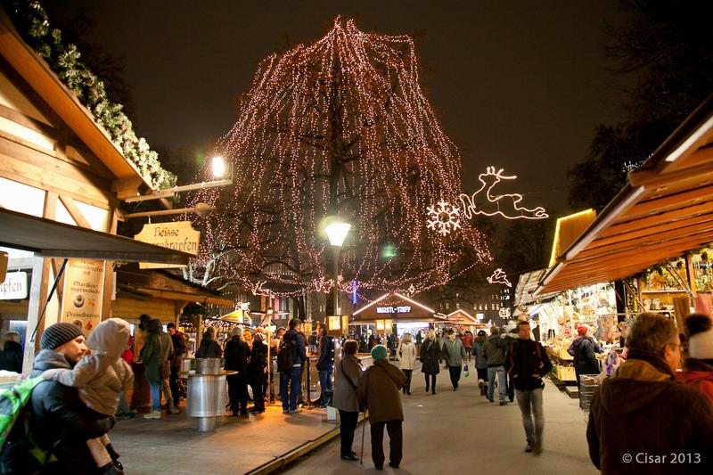 Weihnachtsmarkt Anfang.Linzer Volksgarten Linzer Christkindl Und Weihnachtsmärkte