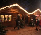 Weihnachtsmarkt Volksgarten in neuem Look ::